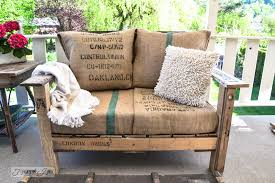 Build Wood Garden Bench by A Cool Pallet Wood Chair Anyone Can Make In A Couple Of Hours