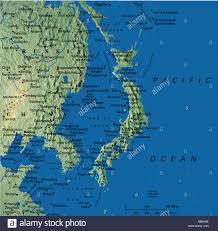 Fuzhou China Map by Map Maps Asia Japan China Korea Stock Photo Royalty Free Image