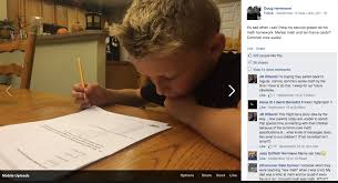Frustrated Dad Shows Why Common Core Math Is Awful The Federalist     Hermann posted a photo to Facebook of his son struggling to complete his math homework with an explanation that he was unable to offer his son help