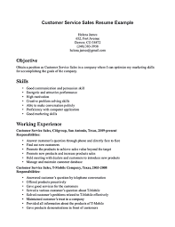 Writing A Functional Resume  customer service resume examples