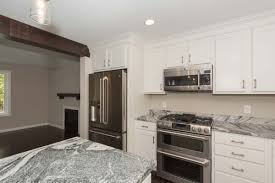 Ivory White Kitchen Cabinets by North Berwick Rockwell Homes