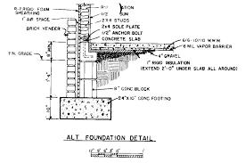 foundation house plans design slab plan pier tiny lrg a2c1c3d07ca