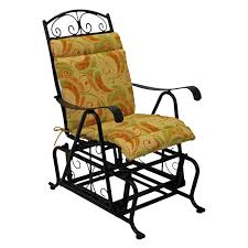 Rocking Chair Cusion Blazing Needles 22 X 45 In Outdoor High Back Patio Chair Cushion