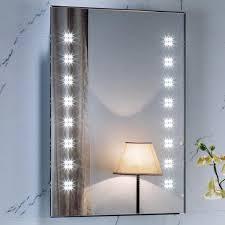 modern backlit bathroom mirror backlit mirrors full image for