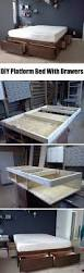 How To Build A Queen Platform Bed Frame by 25 Easy Diy Bed Frame Projects To Upgrade Your Bedroom Homelovr