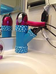 Hair Dryer Bathroom Storage Caddy by 30 Creative Uses Of Pvc Pipes In Your Home And Garden Pvc