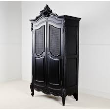 Black Bedroom Set With Armoire Armoires Wardrobes U0026 Armoires La Rochelle Black Antique