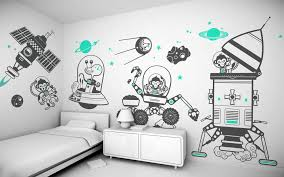 children s room wall murals ideas with pastel color nice room children s room decorating wall murals ideas with pastel color child room decorating wall murals with space and black white colors