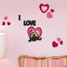 home decor line i love you 59500 wall decals homeshop18