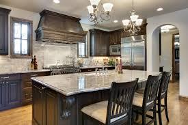 Dark Kitchen Cabinets With Backsplash Dark Kitchen Cabinets Granite Countertops Designs Newest White