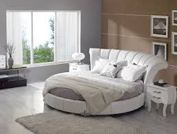 Contemporary Italian Bedroom Furniture Stylish Leather Modern Contemporary Bedroom Designs With Round Bed