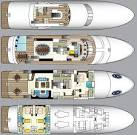 Never Enough Yacht for Sale Layout Feadship.. | superyachts. superyachts.com
