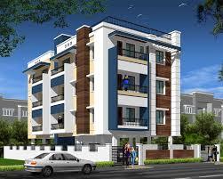 Home Exterior Design G  Andhra Client Oka By Idea Apartment - Apartment building design