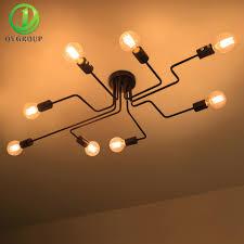 Living Lighting Home Decor Online Get Cheap 8 Light Fixtures Aliexpress Com Alibaba Group