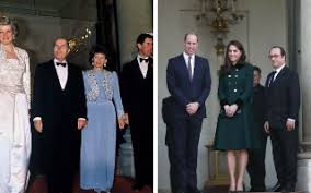 William and Kate in Paris where his mother Diana  Princess of Walse made official visits The Telegraph