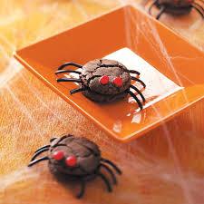 Halloween Cake Mix Cookies by Creepy Spiders Recipe Taste Of Home