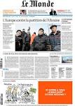 Chernov + UnFrame made todays Le Monde front page - UnFrame.