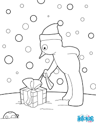 christmas light coloring page eson me