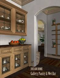 dream home pantry gallery u0026 wet bar 3d models and 3d software
