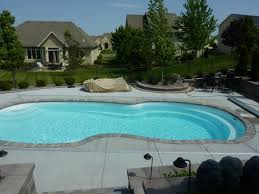 pool gorgeous backyard pool design and decoration using light