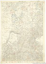 China Topographic Map by Asia Maps Digital Collections Center For The Study Of Asia