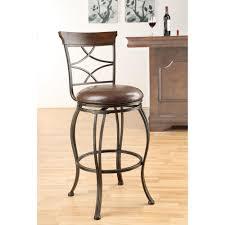 Swivel Dining Room Chairs Acme Tavio 29 In Antique Bronze Swivel Cushioned Bar Stool Set