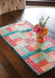 Quilted Table Runners by 249 Best Table Scraps Table Runners Images On Pinterest Quilted