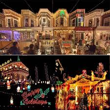 Homes With Christmas Decorations by The Most Decorated Christmas Homes In America Popsugar Home