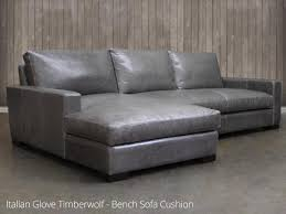 Leather Sofa Chaise by Braxton Leather Sofa Chaise Sectional Leather
