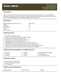 Fast Food Resume Samples by Best 20 High Resume Template Ideas On Pinterest My