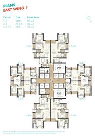 East Wing Floor Plan by Neptune 100 Above Mumbai Discuss Rate Review Comment Floor