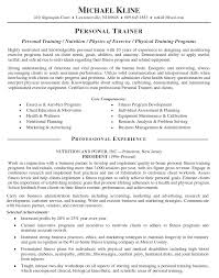 Example Job Resume by 14 Top Personal Training Jobs Resume Recentresumes Com