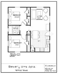 2 Bedroom 1 Bath Floor Plans Bedroom Large 2 Bedroom 2 Bath Apartments Cork Wall Decor Table