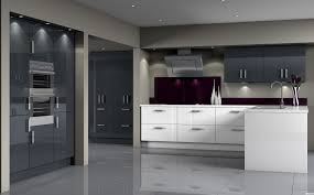 Dark Grey Cabinets Kitchen Glossy Gray Kitchen Cabinets Kitchen Qarmazi As Wells As And White