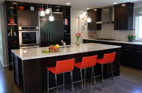 Functional Kitchen Ideas Exotic Red Cherry Cabinets Kitchen Ideas Artbynessa