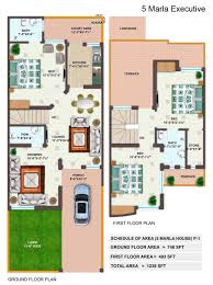 emejing 5 marla house map designs samples pictures today designs 5 marla executive p civil engineers pk