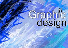 blue graphic design
