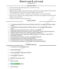 Family Nurse Practitioner Resume samples