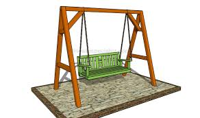 how to build a porch swing howtospecialist how to build step