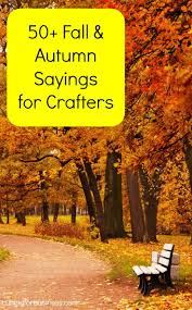 50 fall sayings for crafters u0026 diy projects cricut silhouettes