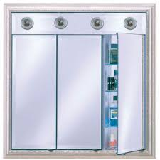 Bathroom Cabinet With Mirror And Light by Lighted Medicine Cabinets With Top Lights Or Side Lights In A