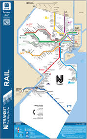 Amtrak Capitol Corridor Map by Unofficial Map New Jersey Transit Rail System Transit Maps