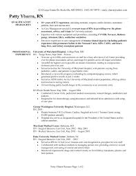 Sample Rn Resume 1 Year Experience by Rn Resume Template Nursing Resume Sample Free Word 39 S Templates