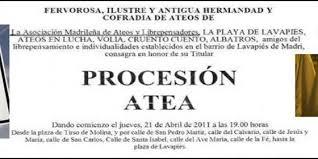 Procesión atea