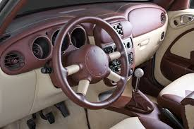 wood pt cruiser interior modifications cool pt cruisers