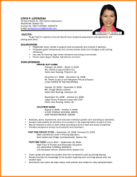 Sample Undergraduate Resume Resume Sample Philippines Undergraduate Frizzigame