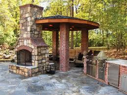 Design Your Own Outdoor Kitchen Outdoor Kitchen With Fireplace Designs Kitchen Decor Design Ideas