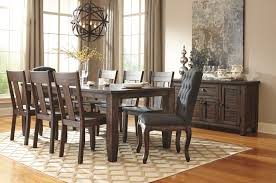 Ashley Furniture Dining Room Chairs Solid Wood Pine Rectangular Dining Room Extension Table By