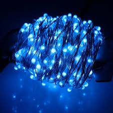 Blue Led String Lights by 30m 300leds Outdoor Christmas Fairy Lights Warm White Silver Wire