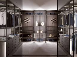 contemporary style walk in wardrobes archiproducts